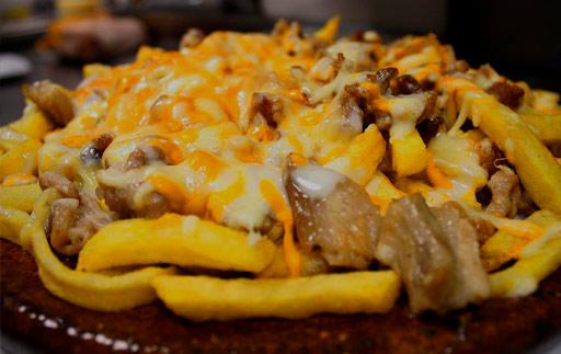 Patatas gratinadas en Palencia en MOESIA