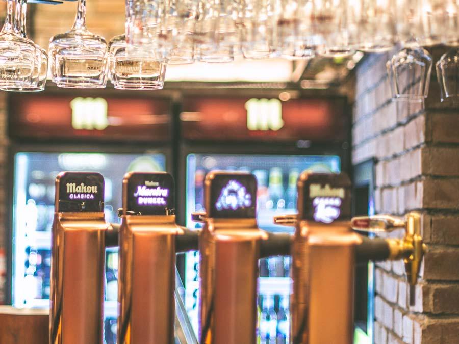 Cerveza fría en Palencia