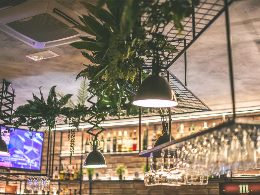 Restaurante moderno en Palencia